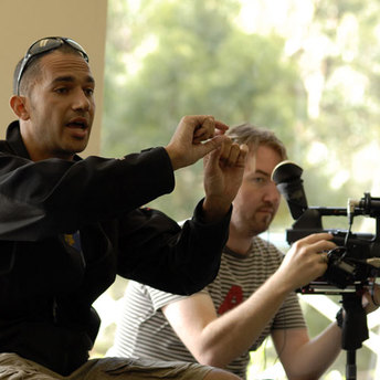 David Vadiveloo, founder and directer of Community Prophets directing the workshop.